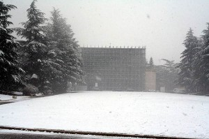 l'aquila neve