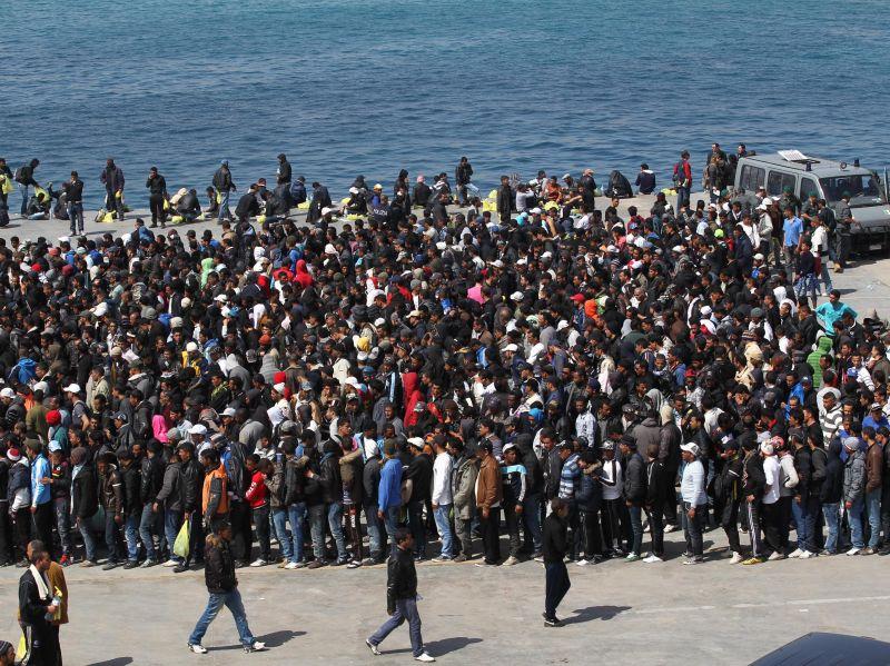 """Commissario UE:""""Non lasciamo da sola Lampedusa""""$"""