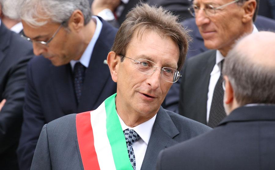 Massimo Cialente, sindaco della città dell'Aquila. Foto: Manuel Romano/L'Impronta