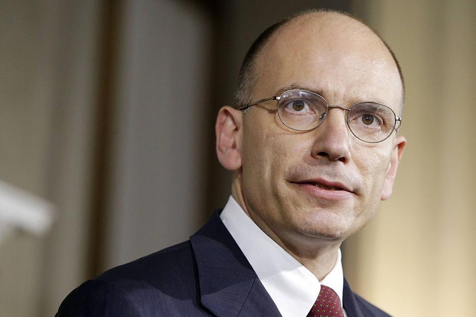 912775 Quirinale - Il Presidente del Consiglio Enrico Letta presenta il nuovo Governo
