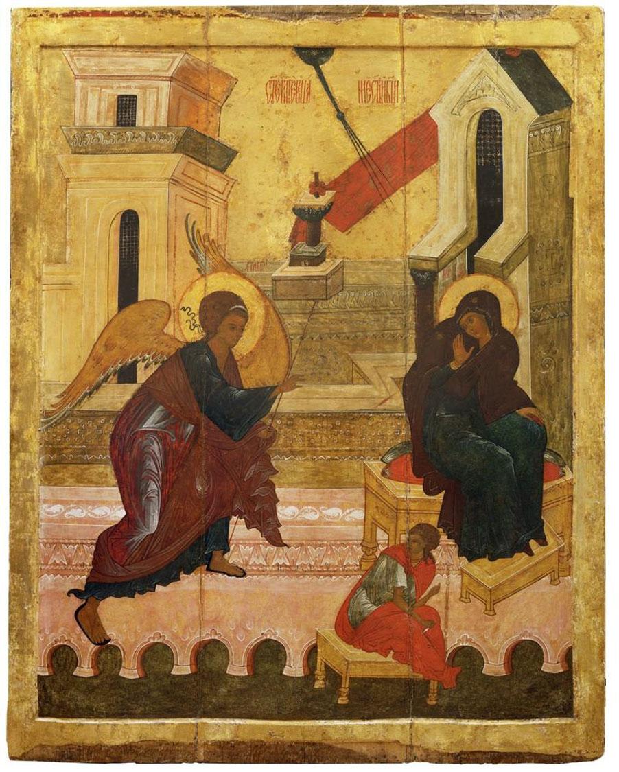 Annunciazione-Novgorod-XVI-secolo
