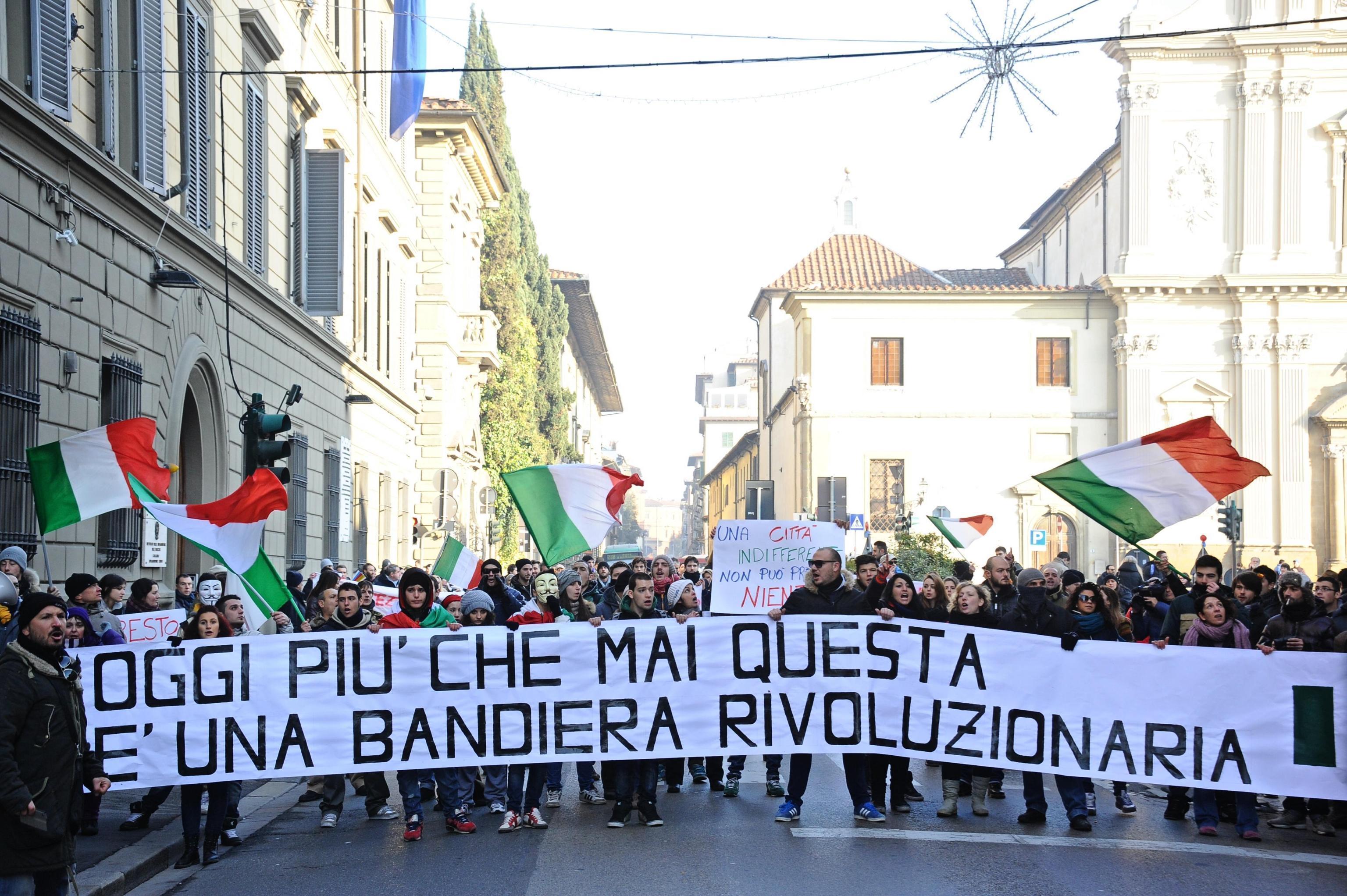 Forconi: Renzi, spero che oggi si limitino in protesta
