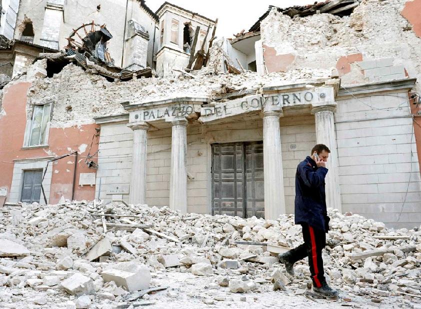 terremoto macerie