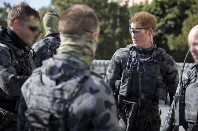 Principe Harry: esercitazione militare australiana in foto