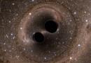 Fusione di Buchi Neri osservata da LIGO
