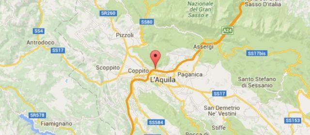 L'Aquila, terremoto di magnitudo 2.1