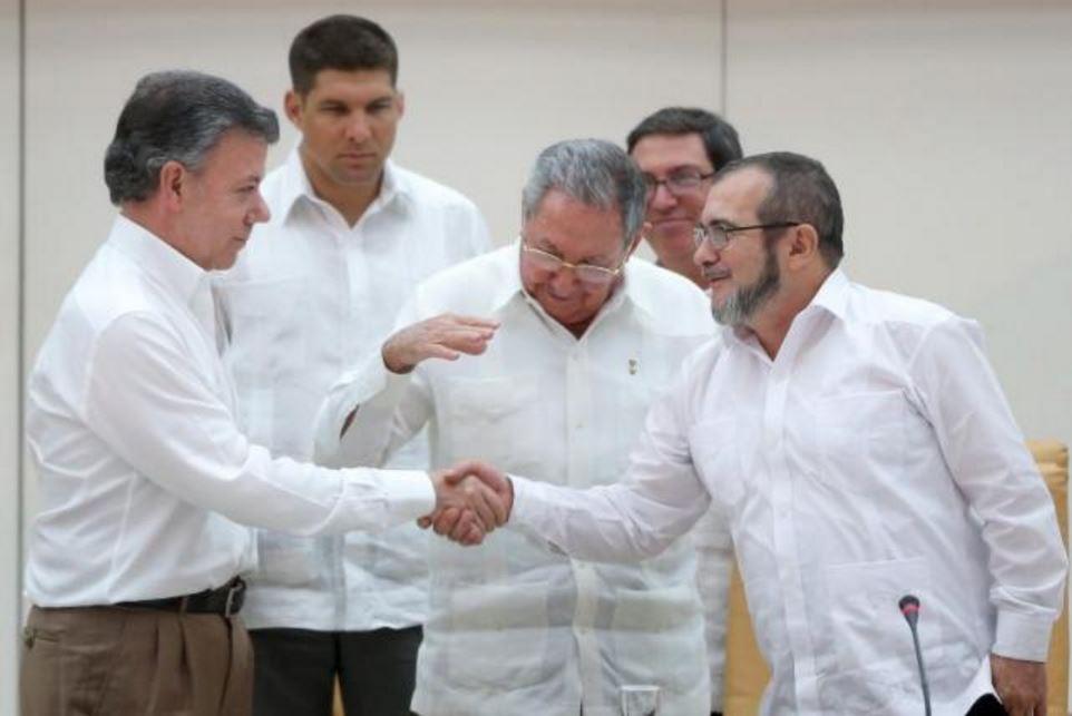 Colombia, storico accordo di pace tra governo e Farc