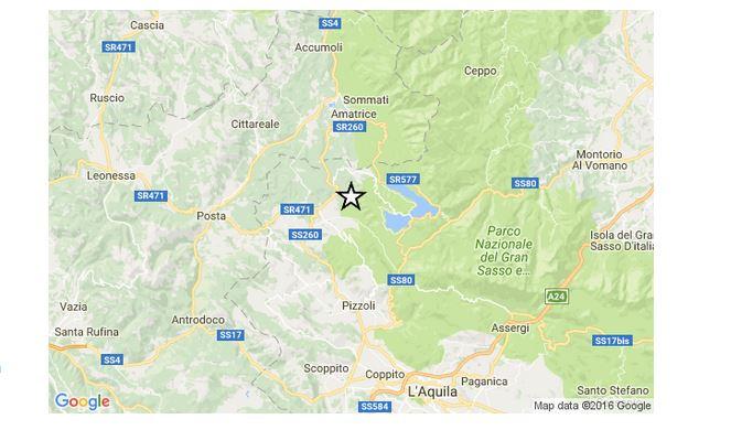 Terremoto in Abruzzo, scossa di magnitudo 4.4 a Capitignano (Aq)