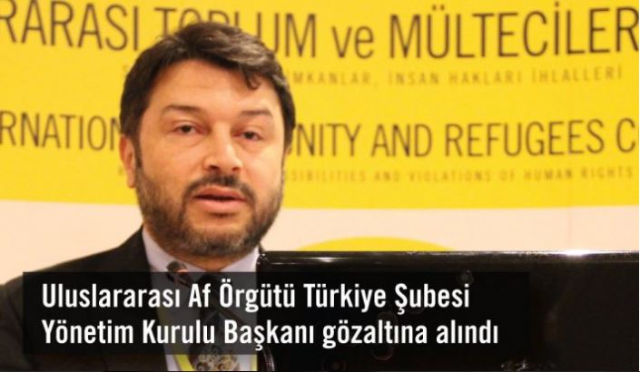 Arrestato Taner Kiliç, presidente di Amnesty International Turchia